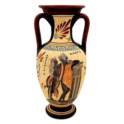 Αμφορέας Αρχαϊκής Περιόδου 26cm, Θεός Απόλλων ,Θεά Αφροδίτη, Σαπφώ