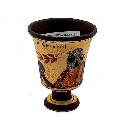 Pythagorean cup,Greedy Cup 11cm ,Shows God Dionysus