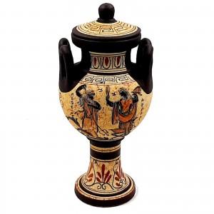 Wedding Lebes 25cm,Ancient Greek Pottery Vase,Shows Olympian Gods