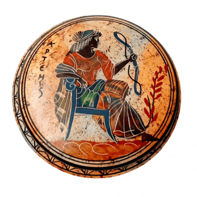 Μπιζουτιέρα 12,5cm ,Αρχαία Ελληνική Τέχνη,Θεά Άρτεμις