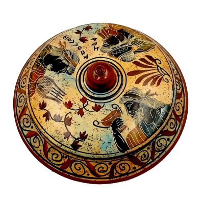 Μπιζουτιέρα 14cm ,Αρχαία Ελληνική Τέχνη,Θεός Απόλλων,Θεά Ήρα και Θεός Διόνυσος