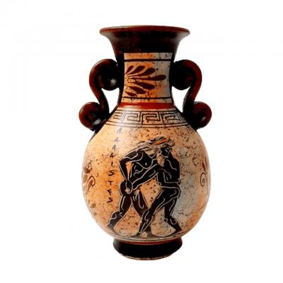 Αμφορέας Αρχαϊκής Περιόδου 17cm ,Απεικονίζονται Αρχαία Ολυμπιακά Θέματα