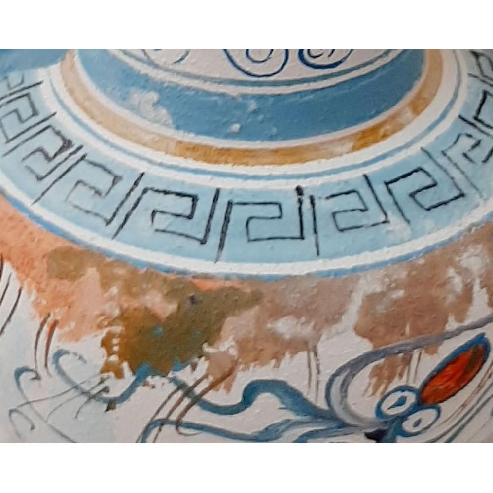 Κρητική οινοχόη,Μινωική τέχνη, 16cm