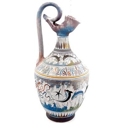 Κρητική Οινοχόη 38cm,Μινωική τέχνη
