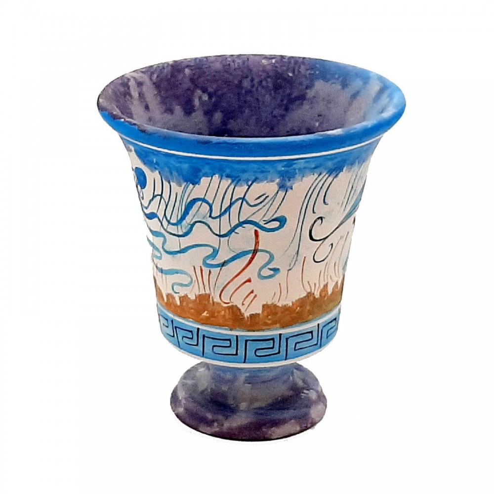 Κούπα του Πυθαγόρα 11cm,Κρητική τέχνη