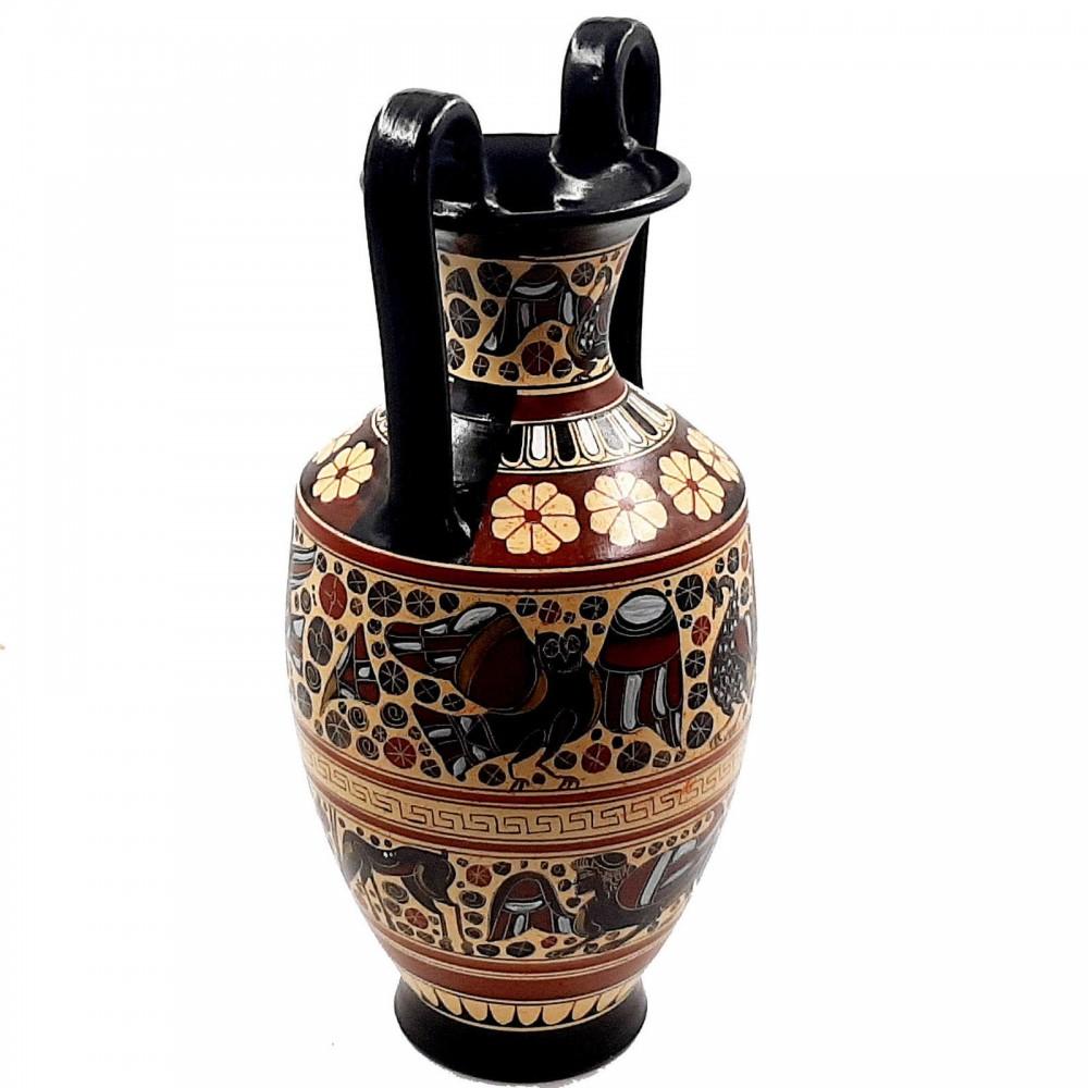 Ancient Greek Art 35cm,Corinthian Pottery Vase