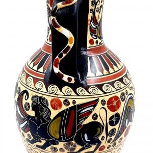 Αμφορέας Φιδάκι Κορινθιακής τέχνης 26cm