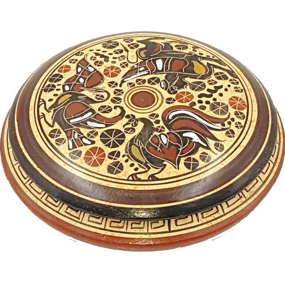 Μπιζουτιέρα 12,5cm Κορινθιακής τέχνης.