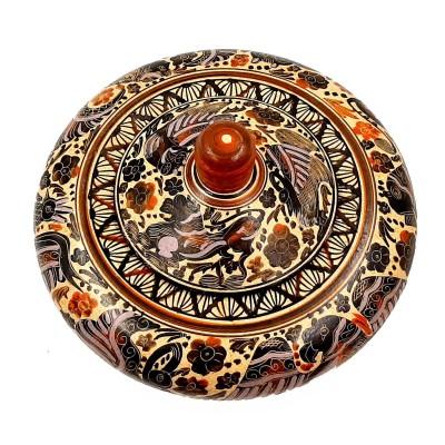 Μπιζουτιέρα 18cm Κορινθιακής τέχνης.